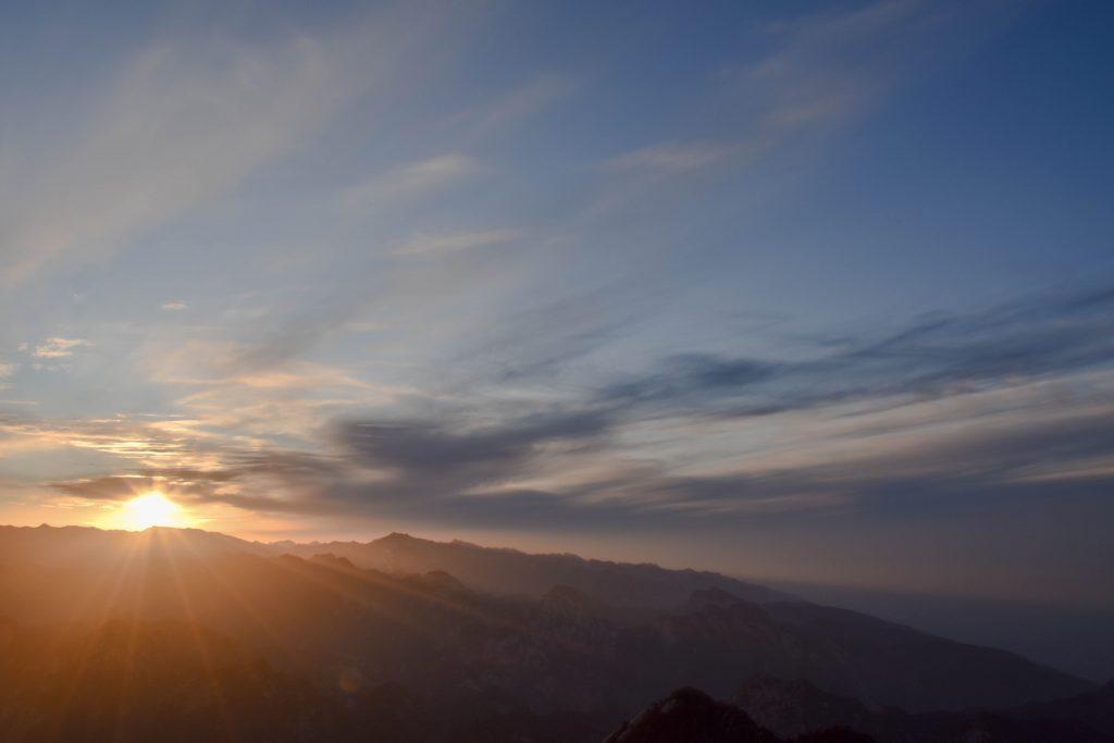 华山 日落 1 1024x683 - 我在华山看日落