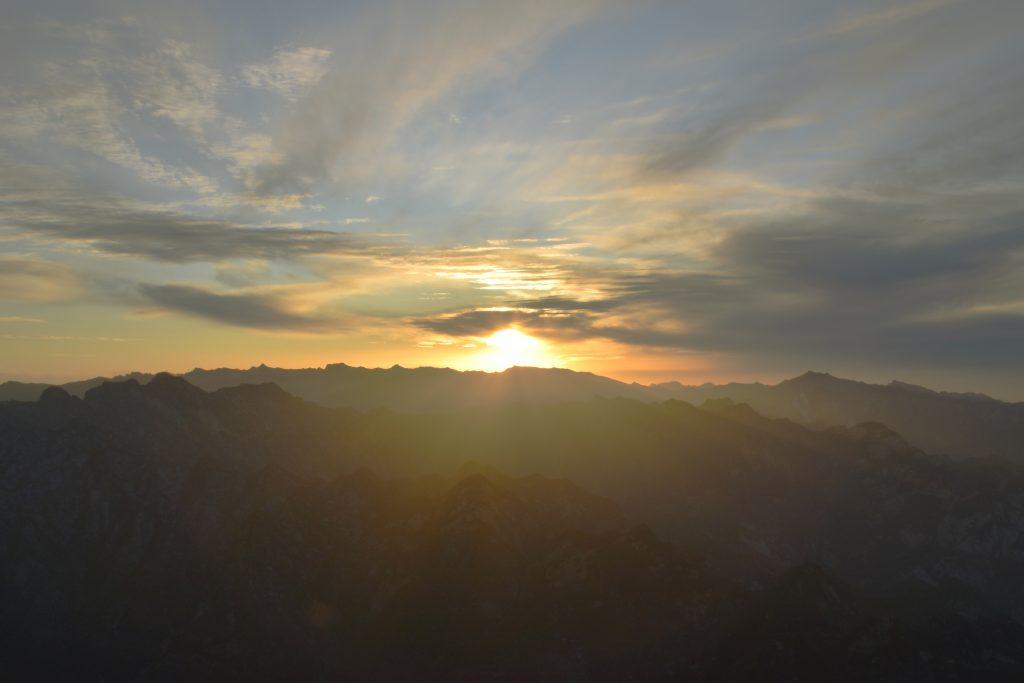 华山 日落 2 1024x683 - 我在华山看日落